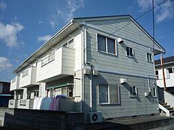福島県いわき市内郷内町磐堰の賃貸アパートの外観