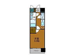 JR大阪環状線 玉造駅 徒歩7分の賃貸マンション 15階1Kの間取り