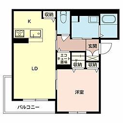 ソラーナ堺[3階]の間取り