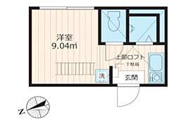 ideal戸越銀座[201号室号室]の間取り