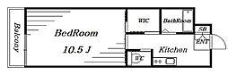 エムズ3[3階]の間取り