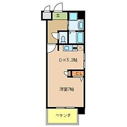 COSMO III[3階]の間取り