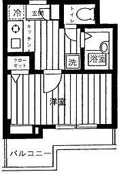 プレール池袋[1階]の間取り