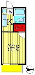 ファミーユダイ[2階]の間取り