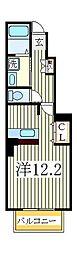 ベルクラールI[1階]の間取り