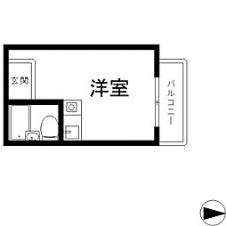 ライラック小阪[406号室号室]の間取り