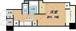 大阪府大阪市中央区内久宝寺町4丁目の賃貸マンションの間取り