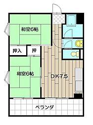MDIマンション[301号室]の間取り