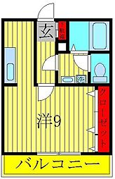ソルフローラ[1階]の間取り