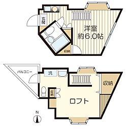 [一戸建] 神奈川県川崎市多摩区長沢3丁目 の賃貸【/】の間取り