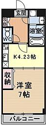 エンゼルプラザeast2[502号室号室]の間取り