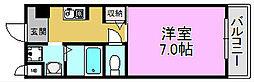 カーライル堺市駅前[6階]の間取り