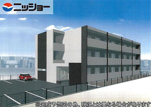 仮)伊藤様ルネスマンション[2階]の外観
