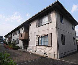 京都府京都市西京区上桂森上町の賃貸アパートの外観