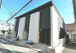 埼玉県所沢市御幸町の賃貸アパートの外観