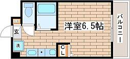 パークヒルズ神戸II[203号室]の間取り