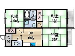 春日マンション[2階]の間取り
