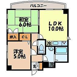 one tree hill 青山[401号室]の間取り