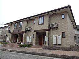 兵庫県神戸市北区上津台2丁目の賃貸アパートの外観