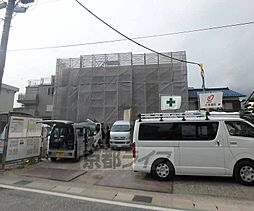 京都府亀岡市三宅町の賃貸アパートの外観