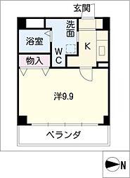 I.S.M III[2階]の間取り