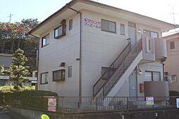 静岡県三島市加茂の賃貸アパートの外観