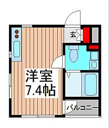 Will Do 南浦和[5階]の間取り