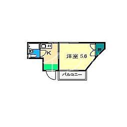 サンハウスA[2階]の間取り
