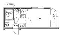 クリスタルコート中野南台[3階]の間取り
