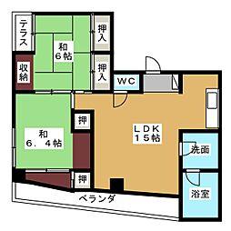 新尾頭ビル[3階]の間取り