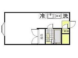 ハイツライラック[1階]の間取り