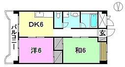 第1ミサワハウス[303 号室号室]の間取り