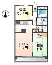 HOUSE  A-1[3階]の間取り