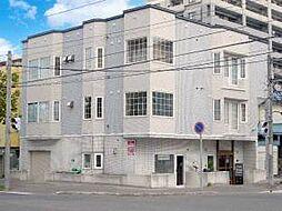 北海道札幌市北区北十四条西1丁目の賃貸アパートの外観