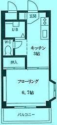 メゾン喜多路[2階]の間取り