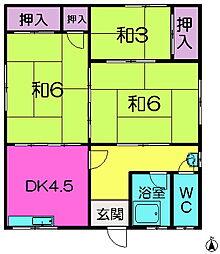 [一戸建] 奈良県奈良市疋田町3丁目 の賃貸【奈良県 / 奈良市】の間取り