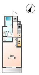 木更津市金田東5丁目新築アパート[207号室]の間取り