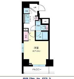 ハーモニーレジデンス上野の杜[2階]の間取り