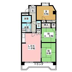 第2田中ビル[7階]の間取り