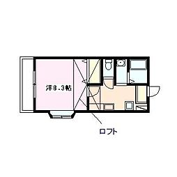 メゾン・クレメンテリア[103号室号室]の間取り