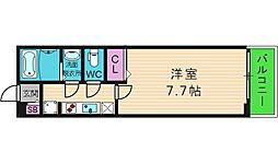 GRANHILLS HIGASHINARI[1階]の間取り