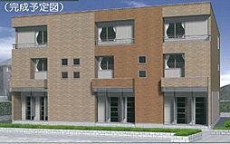 大阪府堺市東区西野の賃貸アパートの外観