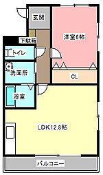 Felice gatto Yokosuka[2階]の間取り