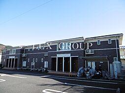 東京都青梅市梅郷6丁目の賃貸アパートの外観
