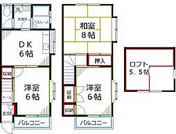 [テラスハウス] 東京都国分寺市本多4丁目 の賃貸【/】の間取り
