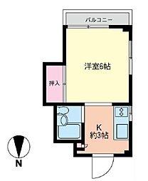 コスモAoi湘南2[5階]の間取り