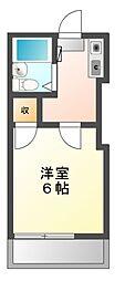 レオパレス21柴田第2[1階]の間取り