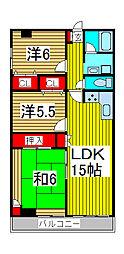 メゾン・ド・グリュー桜[1階]の間取り