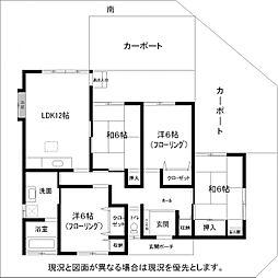 [一戸建] 福岡県福岡市早良区原2丁目 の賃貸【/】の間取り