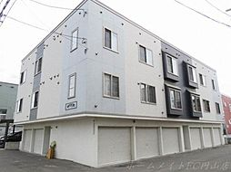 北海道札幌市東区北二十一条東9丁目の賃貸アパートの外観